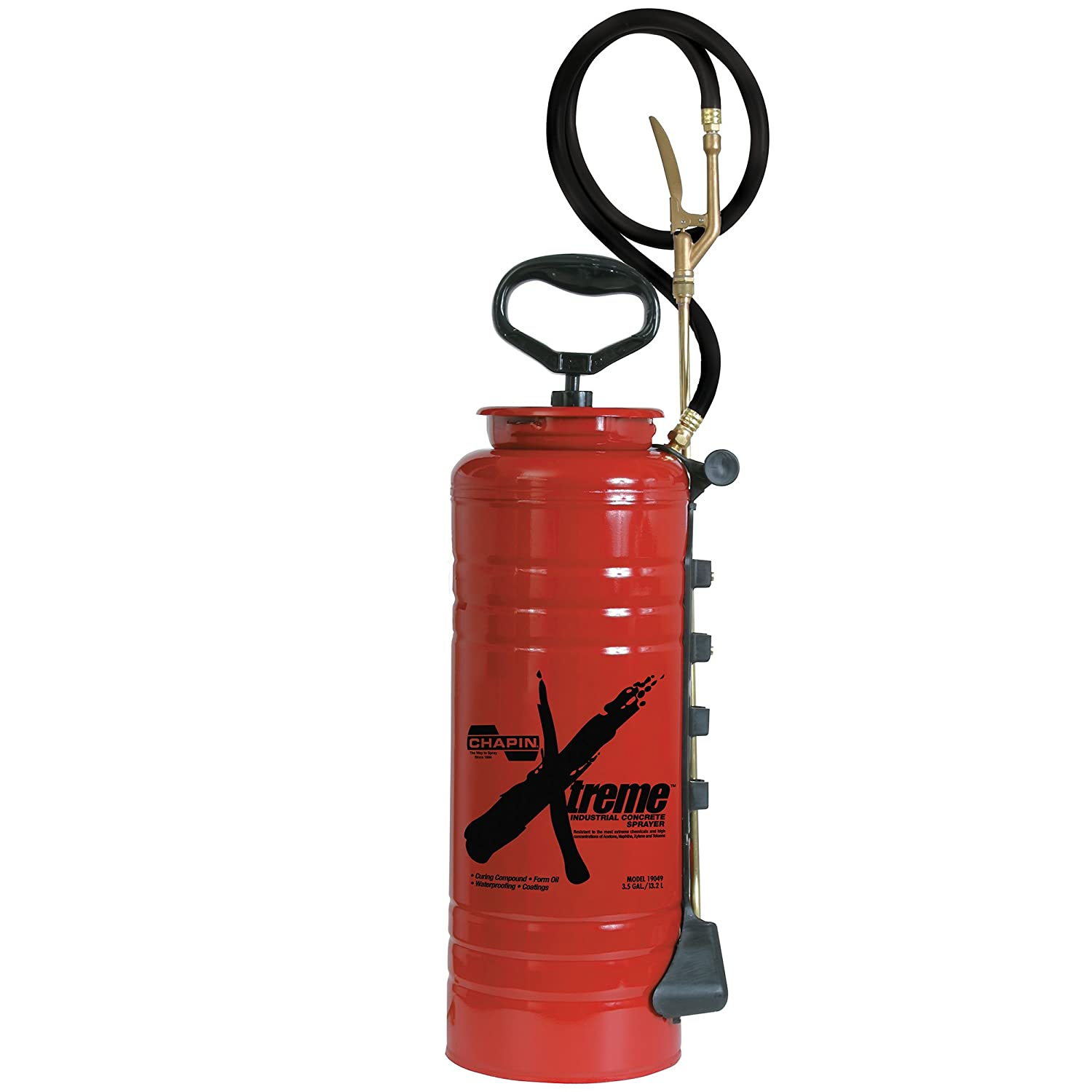 Chapin 19049 Xtreme 3.5 Gallon Industrial Concrete Open Head Sprayer For Curing Compounds