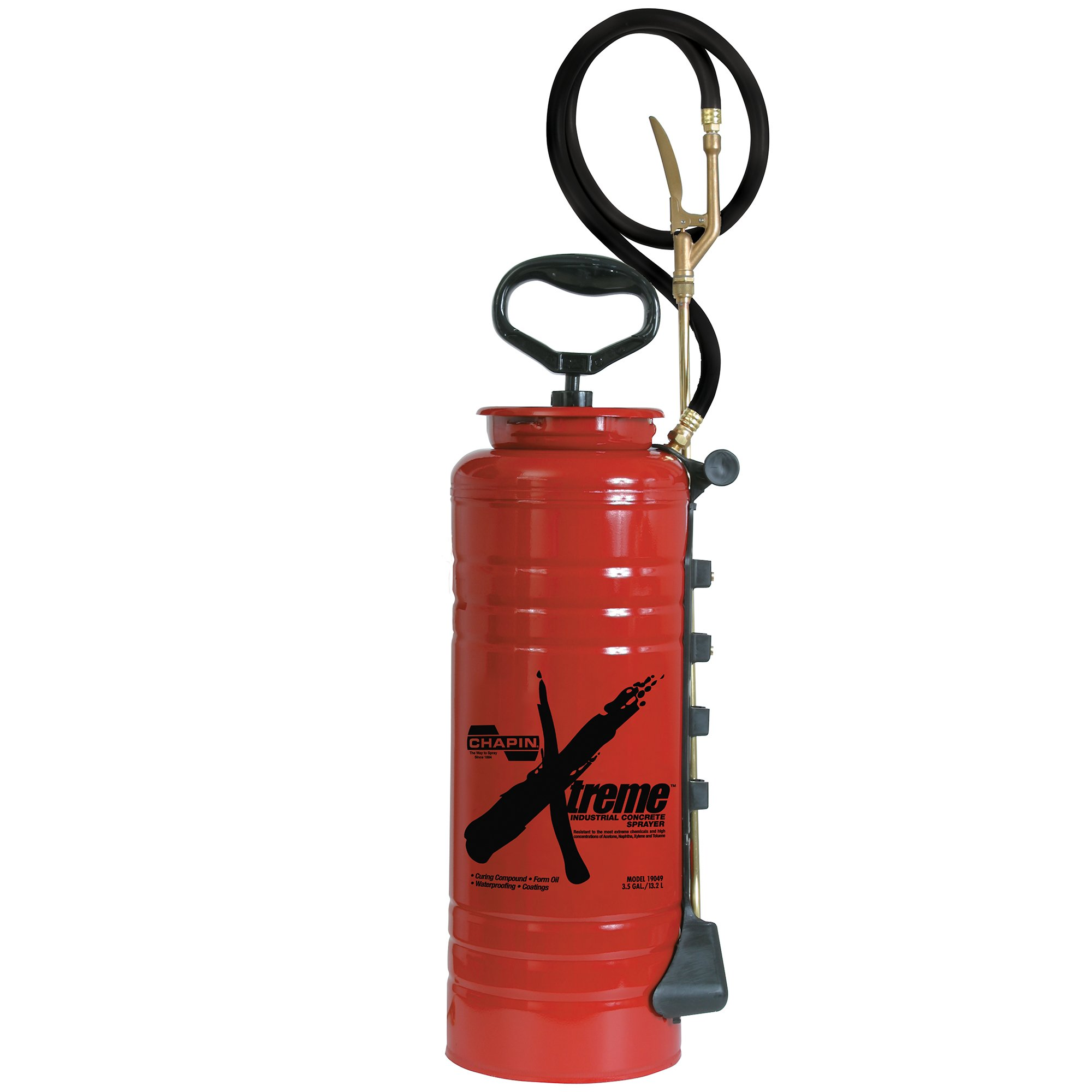 Chapin 19049 Xtreme 3.5 Gallon Industrial Concrete Open Head Sprayer For Curing Compounds, Form Oils, Waterproofing and Coatings