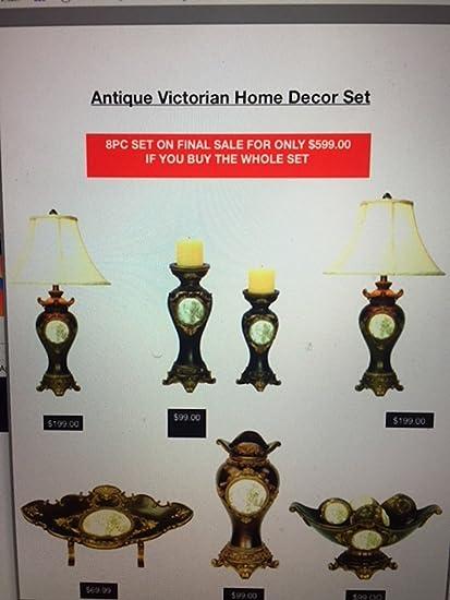 Amazon OK LIGHT Victorian Home Decor 7 Piece Set Kitchen