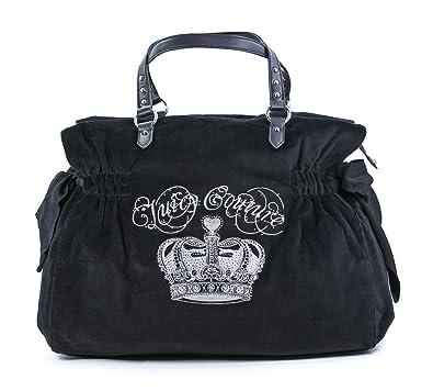1c5eda2a8a4 Amazon.com  Juicy Couture Crown Large Daydreamer Handbag-Black  Shoes