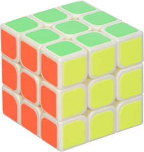 Fast and Smooth Twist 3x3x3 Multi Colored Tile Puzzle Magic Cube from Little Treasures That Challenges the Mind