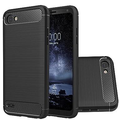 LG Q6 Teléfono Móvil Carcasa de Protección, Ultra Thin Slim ...