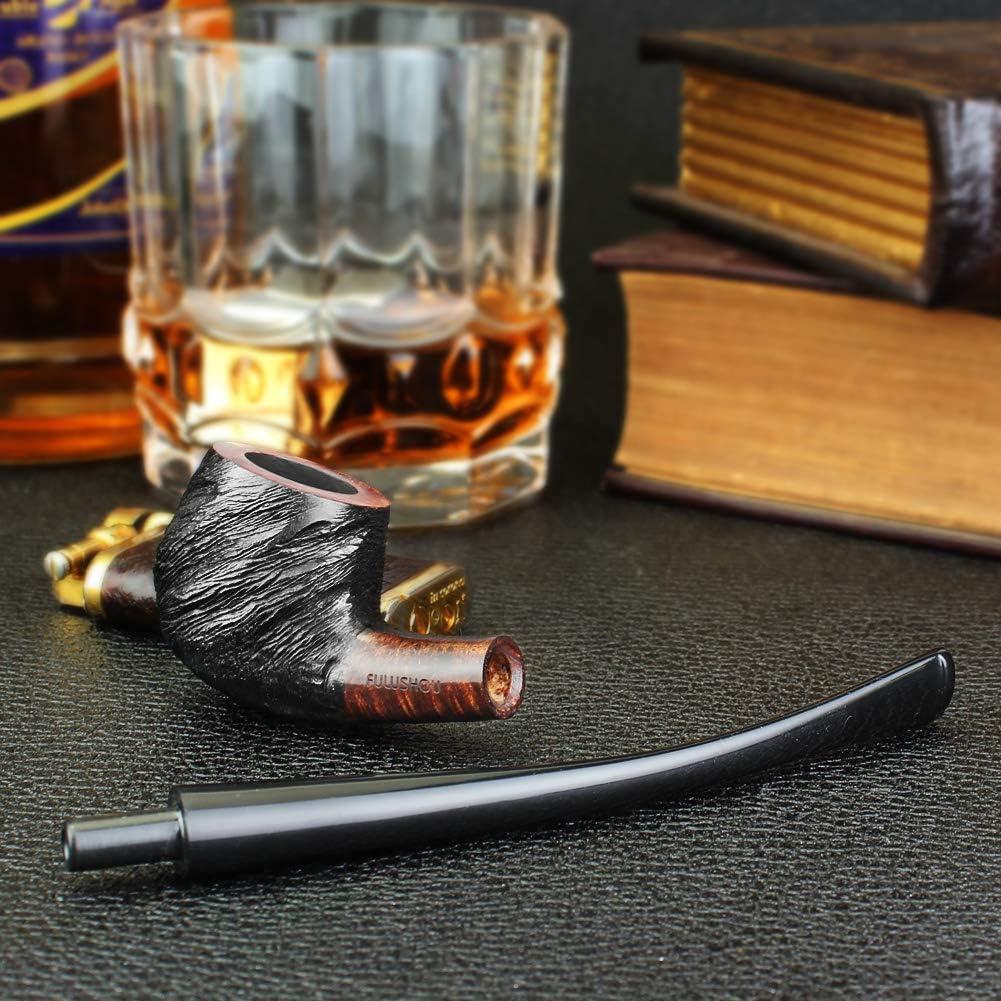 Pipe sculpt/ée Fuushou Pipe /à tabac en bois de briar m/éditerran/éen pour une atmosph/ère simple