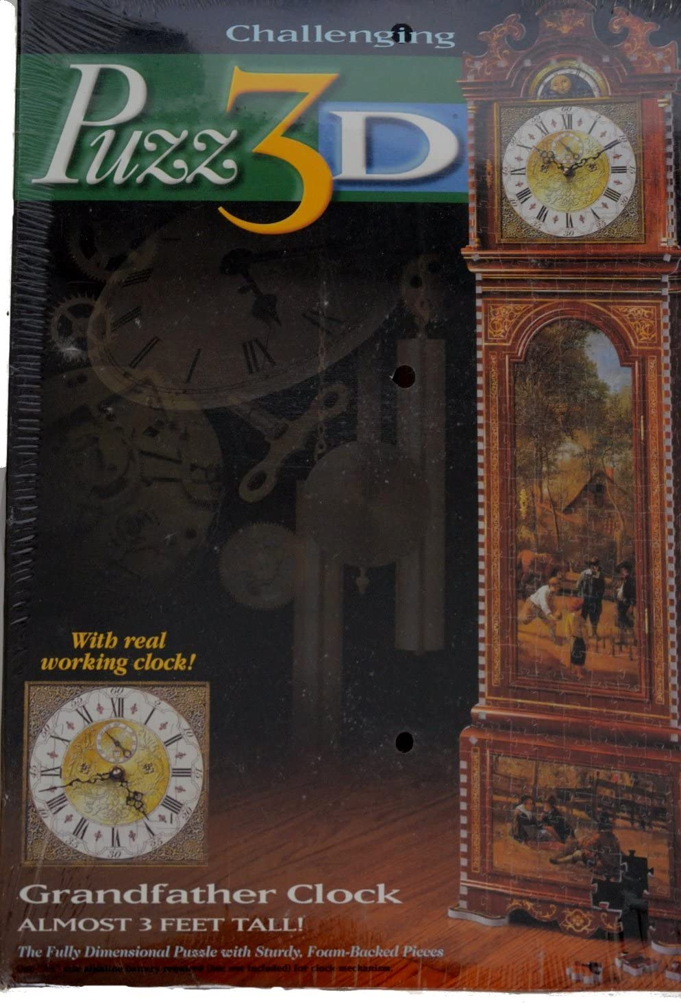 B00000IWE0 puz 3d grandfather clock 71LQQe3zSOL