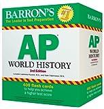 Barron's AP World History Flash Cards, 3rd Edition