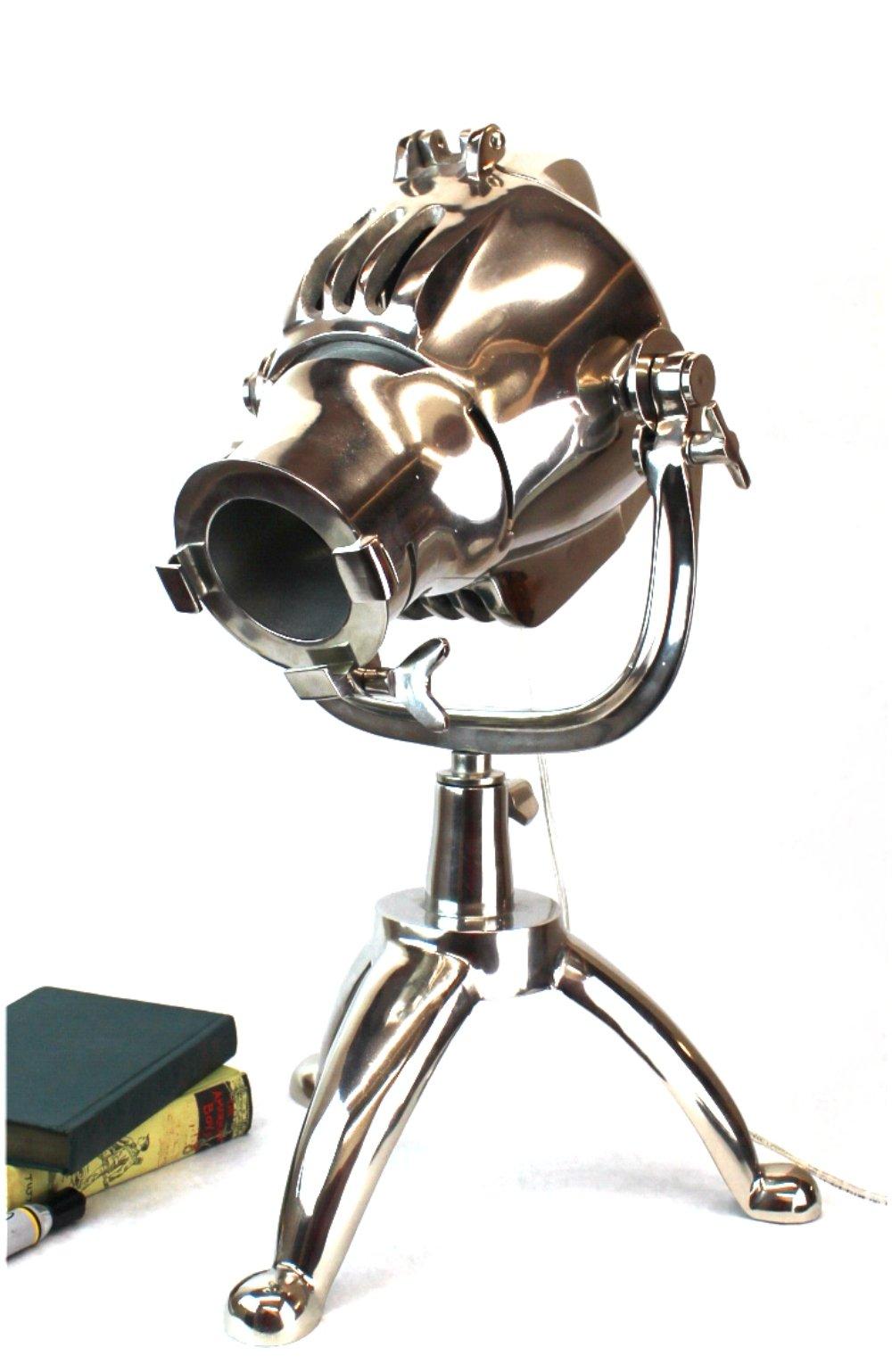 Hollywood Movie Studio Magnified Lens Spot Light Table Desk Lamp Light Fixture