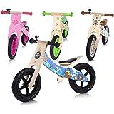 Baby Vivo Laufrad Kinderlaufrad Kinder Fahrrad Lauflernrad Balance Bike mit 12 Zoll Rädern Pirat ab 2 Jahren - Jack