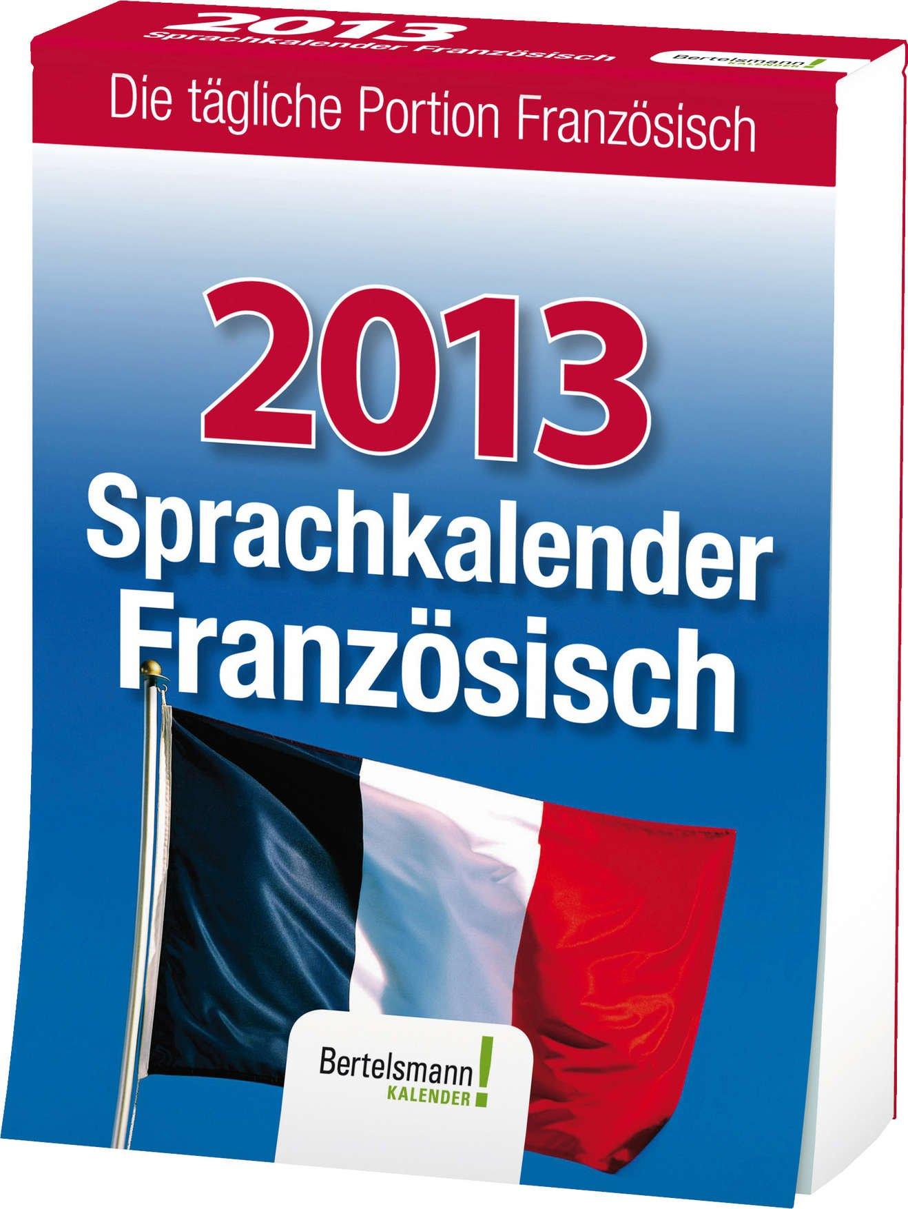 Sprachkalender Französisch 2013
