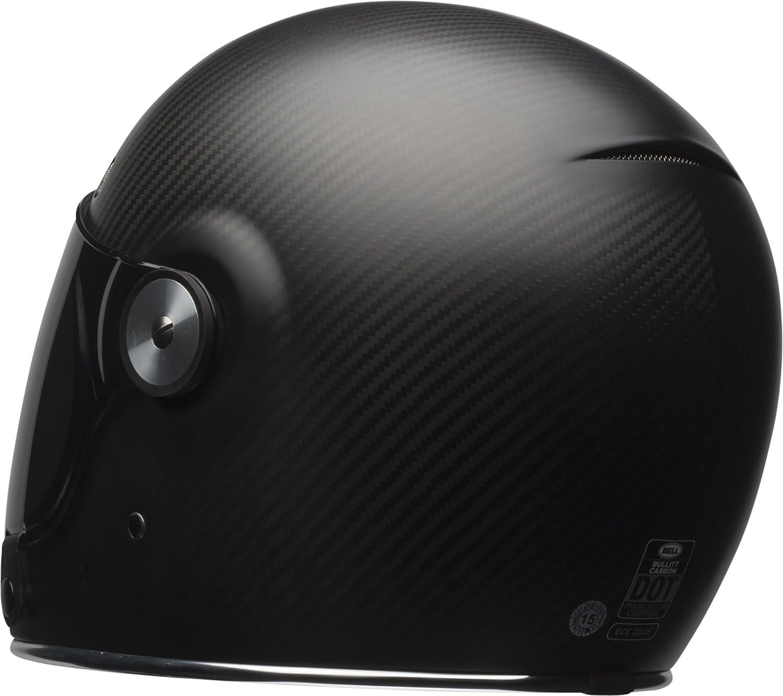 dbe001b9fa041 Amazon.com  Bell Bullitt Carbon Full-Face Motorcycle Helmet(Carbon Matte