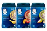 Gerber Baby Cereal 3 Flavor Variety