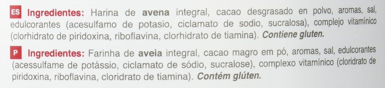 NutriSport Harina de Avena Integral OatPro, Sabor Chocolate - 1500 gr: Amazon.es: Salud y cuidado personal