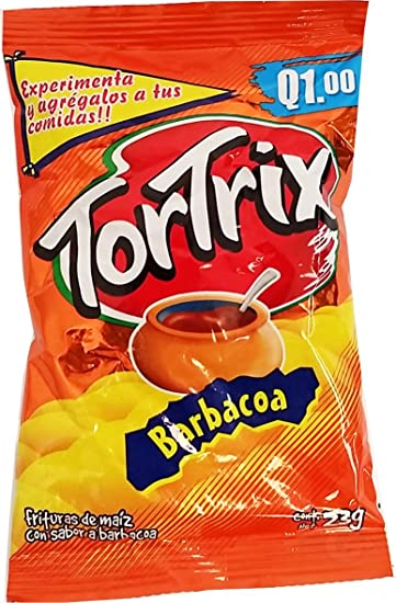 Tortrix Barbecue 0.88 oz (Pack of 12) - Barbacoa (Pack of 6)