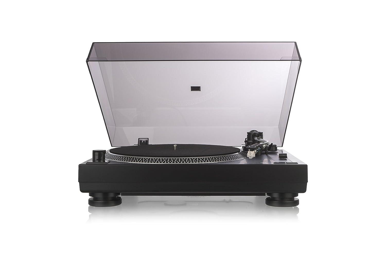 syst/ème de t/ête magn/étique Entra/înement Direct avec Fonction DJ Dual DTJ Tourne-Disque DJ USB Noir Aiguille Pitch Noir 33//45/Tours//Min, /éclairage, USB