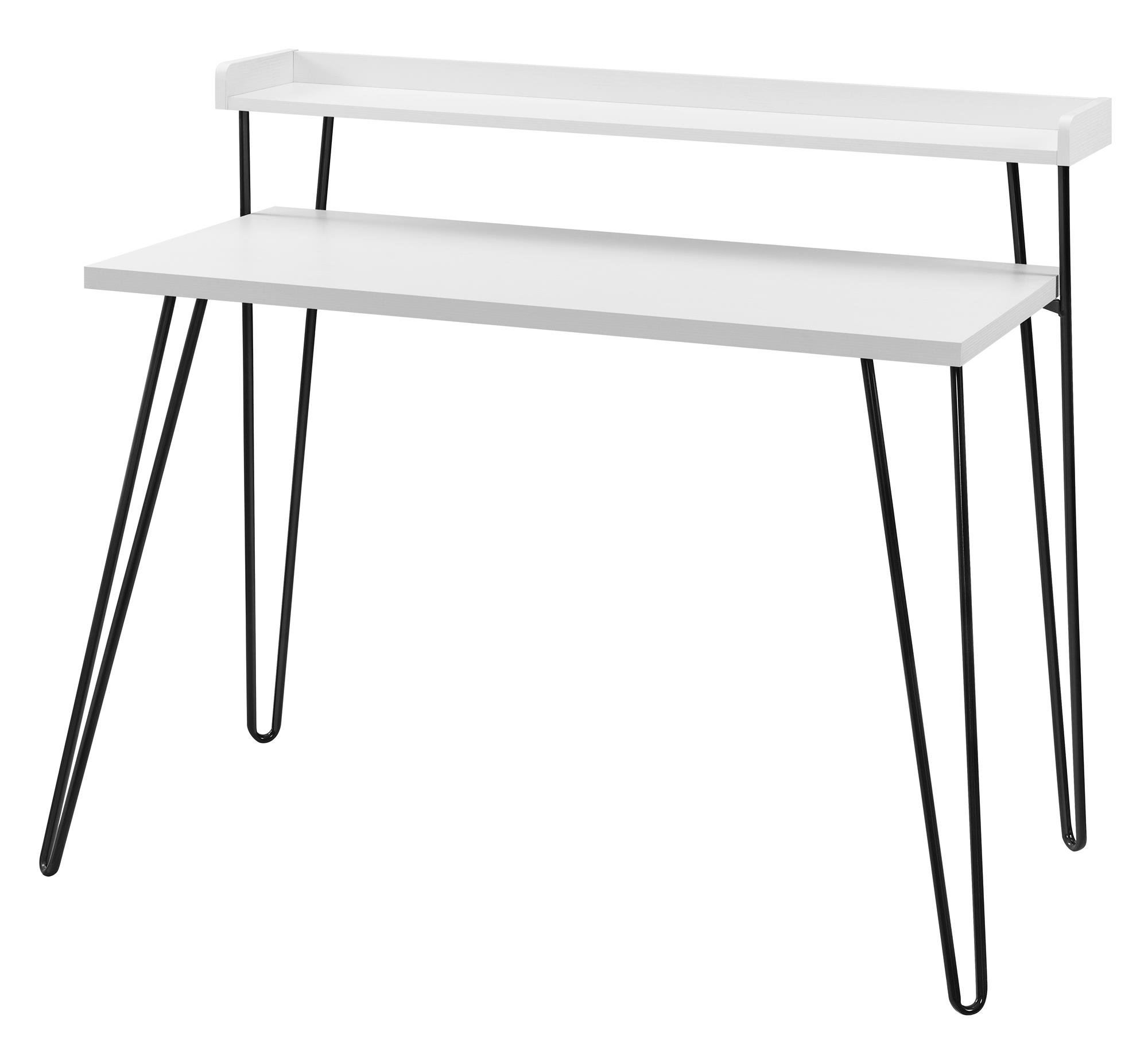 Ameriwood Home Haven Retro Desk with Riser, White by Ameriwood Home