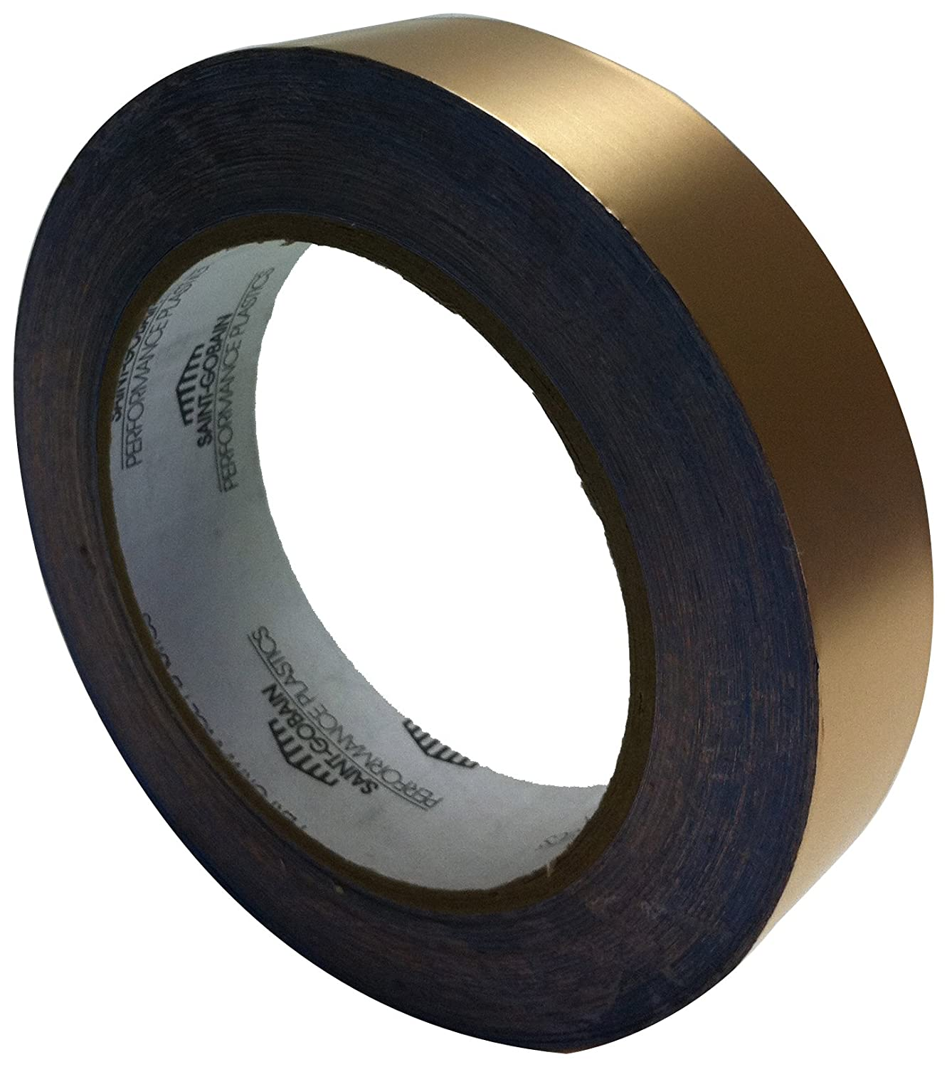 2 mil Thick 2 Width Saint-Gobain Copper Foil Tape 18 yard Length Pack of 1 2 Width CC6652 Copper
