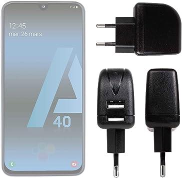 DURAGADGET Cargador con Enchufe Europeo para Smartphone Samsung ...