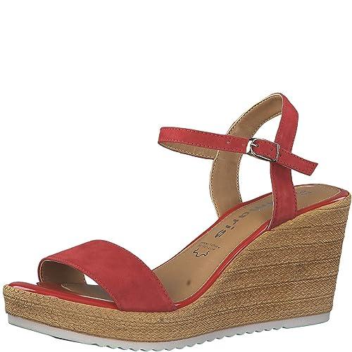 Sandalen mit Absatz Woms Sandals Cognac 3597 Tamaris