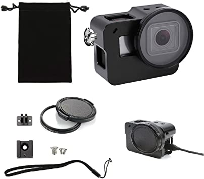 GoPro Hero 5-ring color frame protector cover accesorios individual White