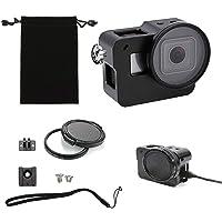Thinvik alüminyum alaşım iskelet kılıfı spor kamera muhafazası için 52mm UV Filtre GoPro Hero 5–siyah Black_Hero
