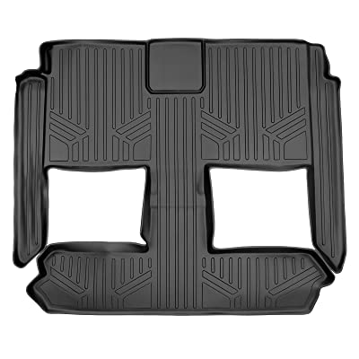 MAX LINER B0046 for 2008-2020 Grand Caravan/Chrysler Town & Country (Stow'n Go Seats Only), Black: Automotive