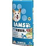 アイムス (IAMS) 成犬用 体重管理用チキン 中粒 5kg [ドッグフード]