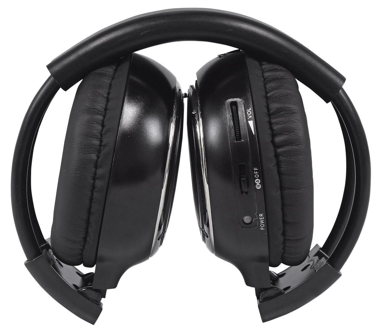 "Pair Rockville RHP7-BK 7"" Black TFT-LCD Car Headrest Monitors+2 Wireless Headset by Rockville (Image #8)"