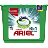 Ariel 3 in 1 Pods mit Febreze, 1er Pack (1 x 24 Waschladungen)