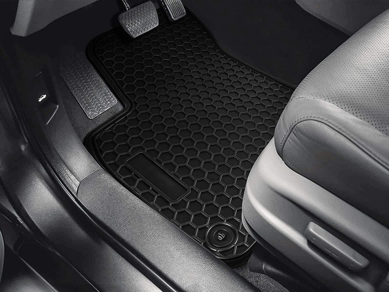 Danti Rubber Floor Mats Floor Liners Mat for BMW 3 Series 2012-2018 /& 2015 All Weather Protection F80 M3 Waterproof Custom Fit