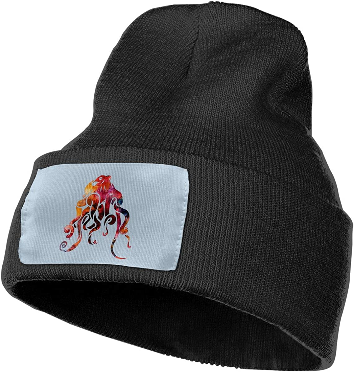 PCaag7v Octopus Colorful Beanie Hat Winter Solid Warm Knit Unisex Ski Skull Cap