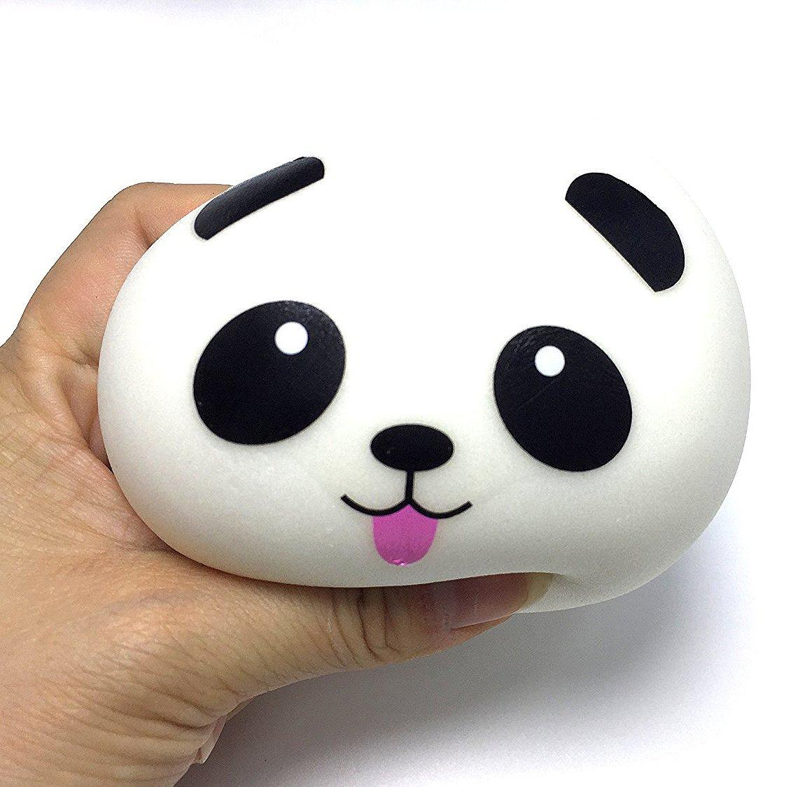 Kawaii de Comida Gigante Bollo Pan Donuts Panda Suaves y Blandos Jumbo Medio y Mini Juguetes Squishy Paquete Surtido de 20 Squishies Amuletos de M/óvil Llavero Correa