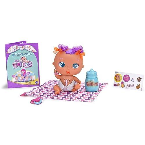 The Bellies Muak Muak muñeco interactivo para niños y niñas de 3 a 8 años Famosa 700014564