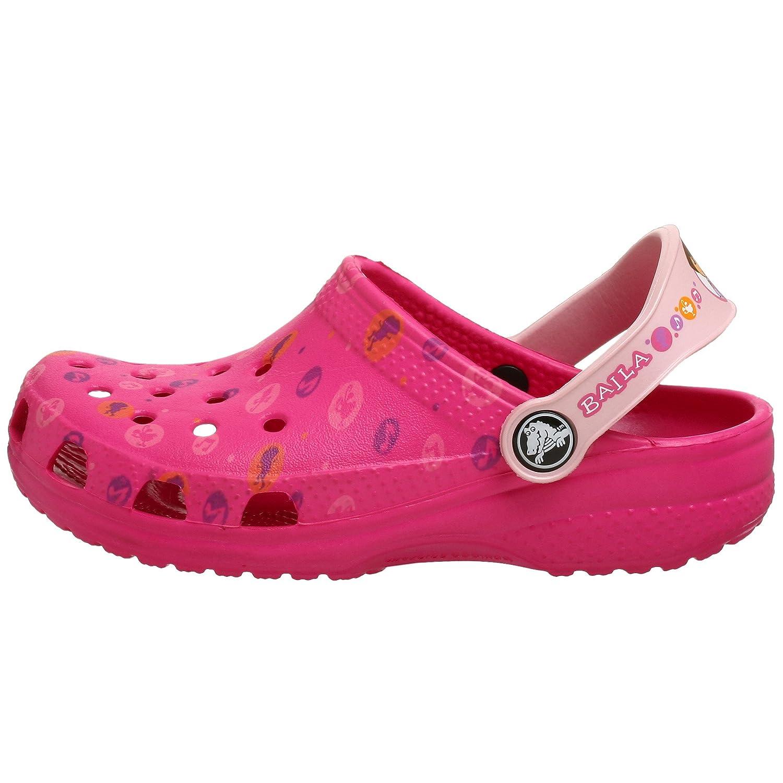 3d1f8b288b Amazon.com | Crocs Toddler/Little Kid Dora Dance Sandal, Fuchsia/Cotton  Candy, 4-5 M US Toddler | Clogs & Mules