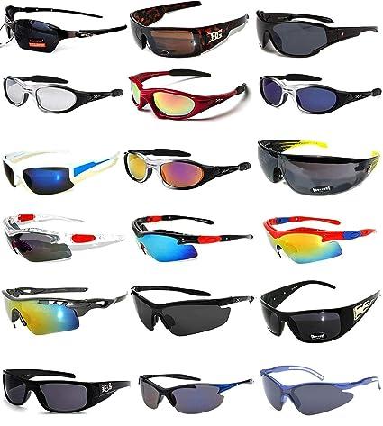1801e7d2945 Amazon.com  18 Pieces Wholesale Lot Men Mix Sunglasses Assorted Models Fashion  Men s Bulk  Everything Else