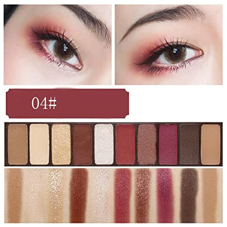 ... Colour Women Makeup Eye Shadow Pearlescent Set for Daily Party,Waterproof, With It You can be More Lovely and Charming (D): Amazon.co.uk: Kitchen & Home