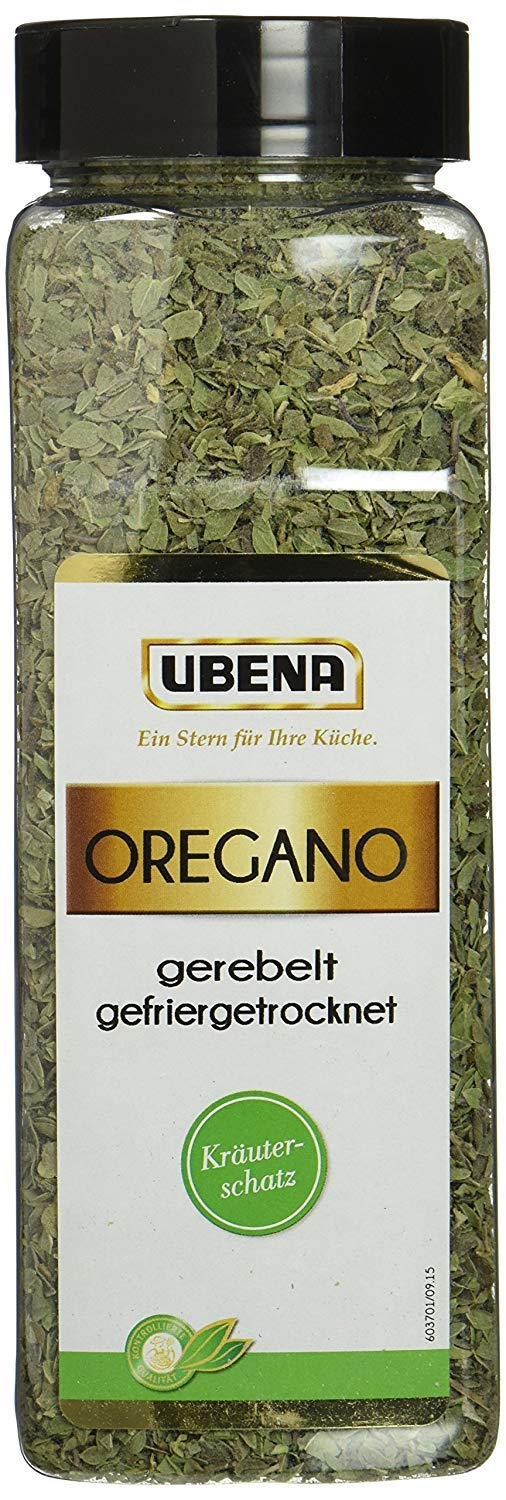 Ubena Oregano shredded freeze-dried 70g