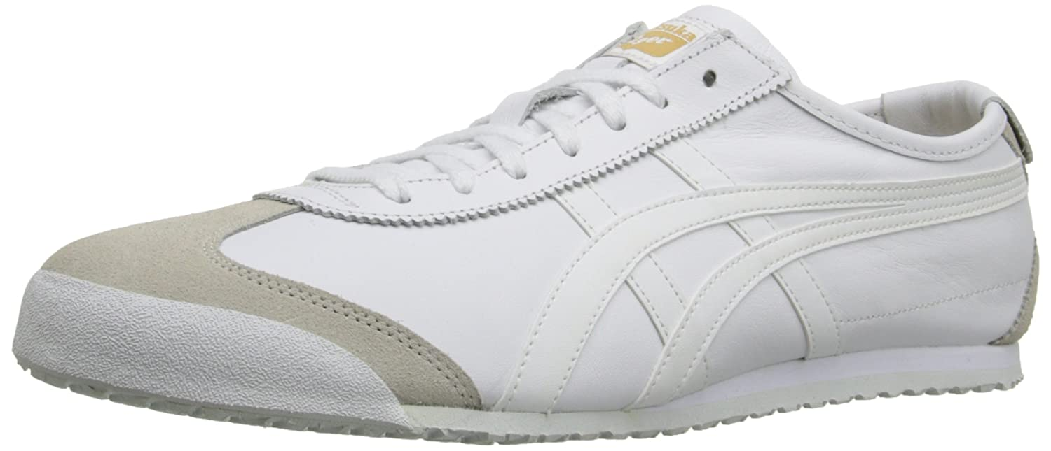 Onitsuka Tiger Mexico 66 Fashion Sneaker B00ZJB09BA 7.5 M Men's US/9 Women's M US|White/White