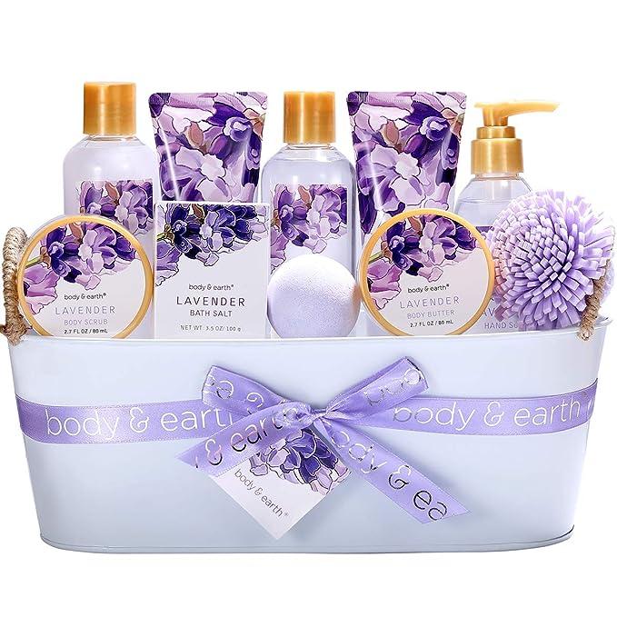 Bath Spa Gift Basket, Body & Earth Bath Gift Set