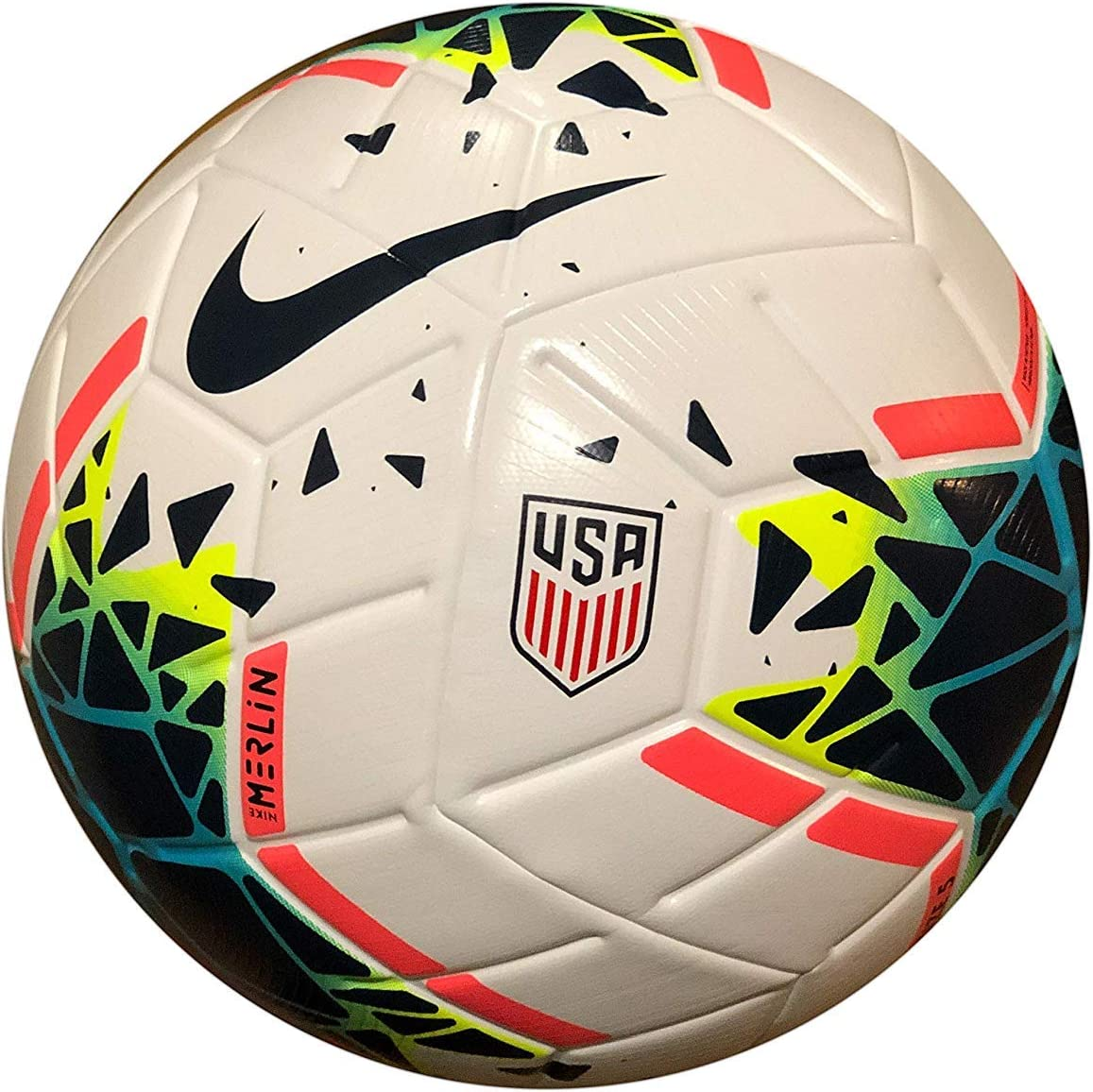 Nike Team USA Merlin 2020 Official Match Ball Acc Soccer Ball ...