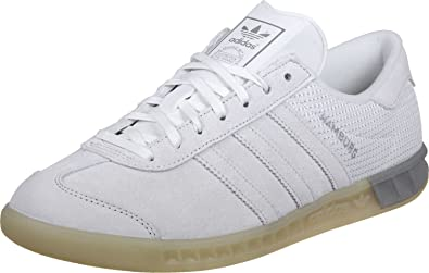 adidas Hamburg Tech Schuhe vintage whitesilver: