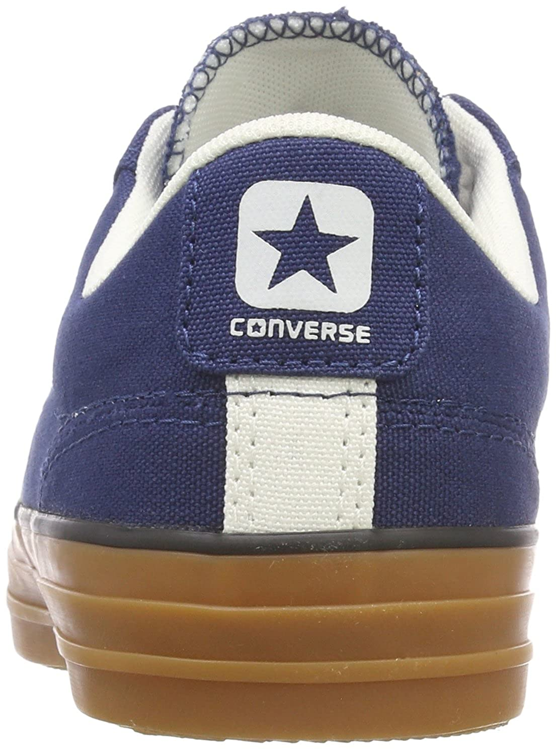 6881cb7c6811 Converse Unisex Adults  Star Player OX Navy EGRET Honey Trainers ...