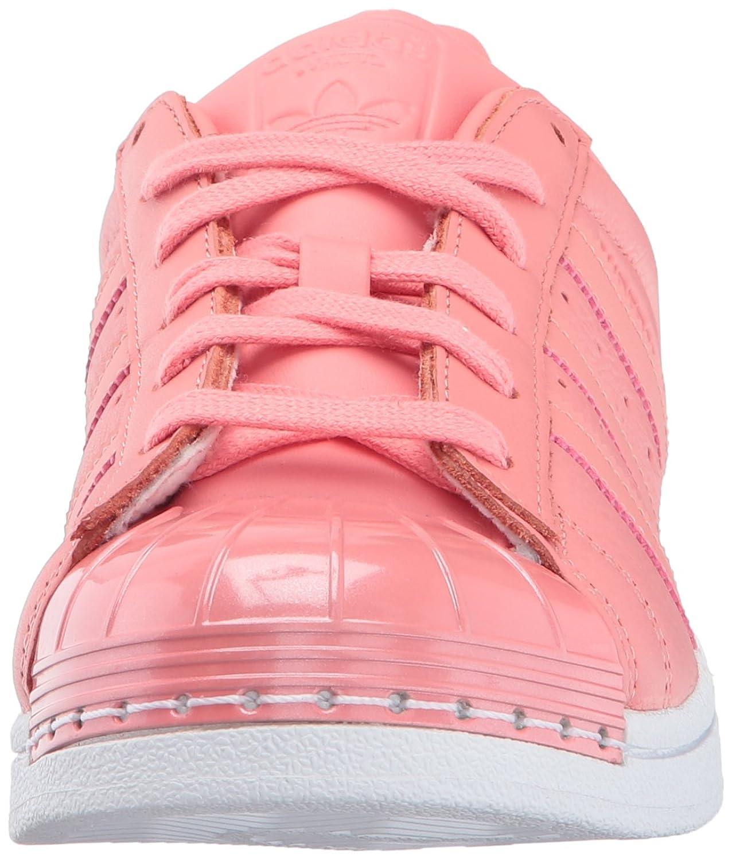 best sneakers d840a b9b03 Goma dedo del pie de la concha sintético forro de cuero. Zapatillas adidas  dedo del pie Originals Superstar, metal ...
