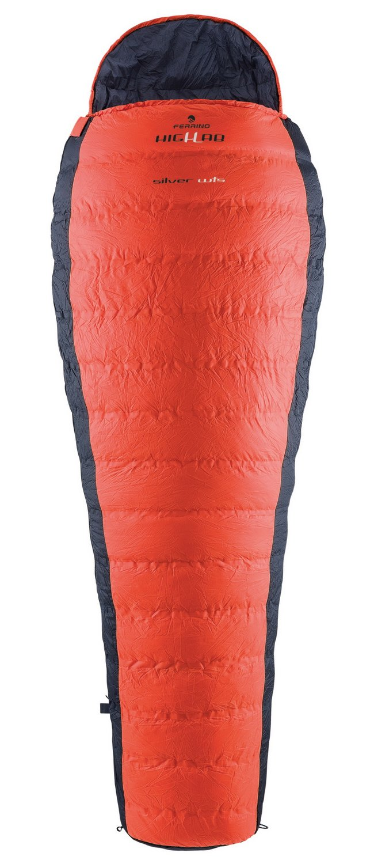 Ferrino Highlab Hl Silver Sleeping Bag, Orange/Black, Large by Ferrino