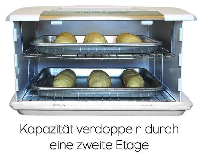 Korona 21133 Toaster con Brötchenaufsatz Verde: Amazon.es: Electrónica