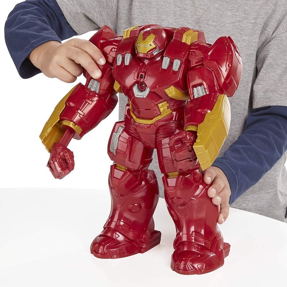 Spielzeugmodell für Kinder Marvel Avengers Age of Ultron Interaktive Actionfigur von Hulk Buster 33Cm   PVC