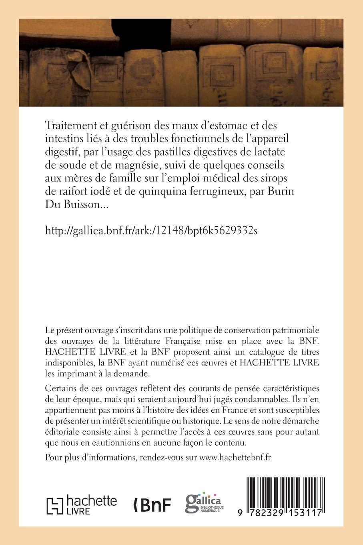 Traitement Et Guérison Des Maux dEstomac Et Des Intestins Liés À Des Troubles Fonctionnels (French Edition): Burin Du Buisson-A: 9782329153117: Amazon.com: ...