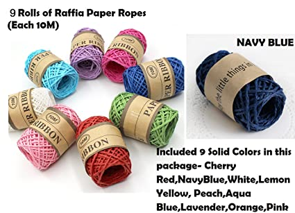 10M x WHITE Card Craft Gift Cord card making String gift tag thread Scrapbook