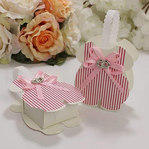 little-kawaii gift boxes 12 Cajas de Regalo de Color Rosa/Azul ...