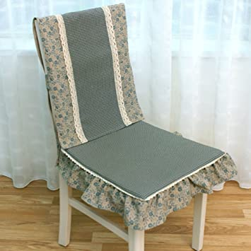 Image Unavailable Not Available For Color QTQZ American Floral Dining Chair Cushion