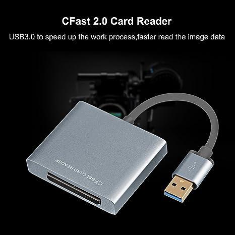 CFast 2.0 lector de tarjeta, tpfocus XQD USB 3.0 Reader 500 ...