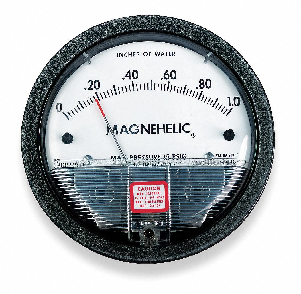Dwyer Instruments, Inc. 2001 Series 2000 Magnehelic® Differential Pressure Gage